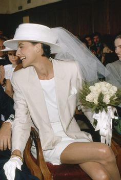 Wedding Shoot, Dream Wedding, Wedding Fun, Wedding Reception, Wedding Ideas, Bridal Outfits, Bridal Gowns, Red Bridesmaid Dresses, Courthouse Wedding