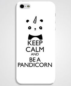 Keep Calm and Be a Pandicorn.