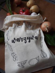 Worek na warzywa wielokrotnego uzytku :) #cotton #bag #plasticfree #eco #beeco #ecology #fruits #vegetable #vege Burlap, Reusable Tote Bags, Blog, Diy, Hessian Fabric, Bricolage, Blogging, Do It Yourself, Homemade