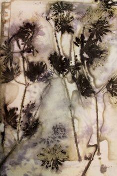 Eco printing Perennial Geranium | Threadborne