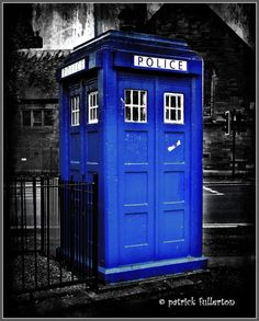 old police box 9 cathedral street glasgow Dr by PatrickFullerton