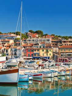 Colorful Cassis, France.