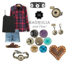 """""""Magnolia and Vine Hippy Chic"""" by magnoliaandvine ❤ liked on Polyvore featuring rag & bone/JEAN, Equipment, Birkenstock, women's clothing, women, female, woman, misses and juniors"""