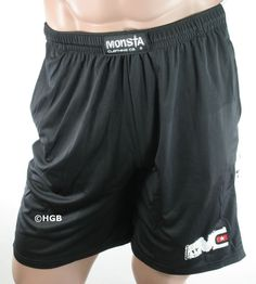 NEW Mens Workout MONSTA Bodybuilding Clothing Dri-Fit Moisture Wick Gym Shorts #MONSTA #GYMSHORTS