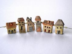 Un Village en Auvergne by SONYA GIRODON | Polymer Clay Planet