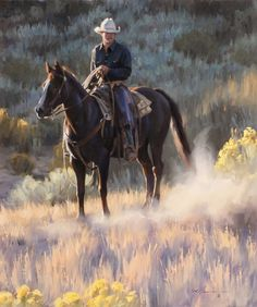 """""""The Quiet Hour"""" ~ Tom Browning 541-213-2134Brasada Ranch RoadPowell Butte, Oregon 97753"""