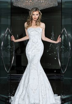 Simone Carvalli 90212 Wedding Dress - The Knot