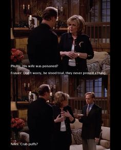 lol, oh I love this show. Frasier.