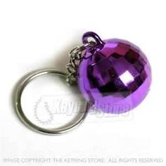 disco ball keyring