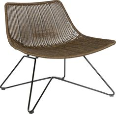Stylish stio chair in brown Outdoor Chairs, Outdoor Furniture, Outdoor Decor, Spirit Of Summer, Shops, Dining Table, Stylish, Brown Brown, Home Decor