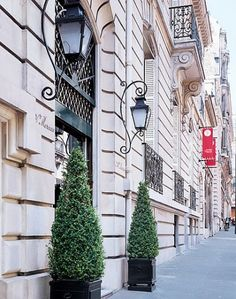 The former couture house of Yves Saint Laurent, located at 5 avenue Marceau in…