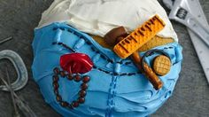 Make this candy-covered Father's Day or birthday cake for the handy dad who can do it all!