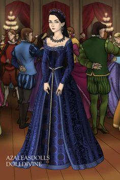Anne Boleyn ~ by QueenAnneBoleyn ~ created using the Tudors doll maker   DollDivine.com