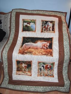Horse quilt made for a friend.