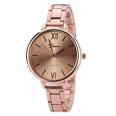 073b8edab05 2017 New Luxury Women Geneva Quartz Watch Rose Gold Sliver Stainless Steel  Clock Ladies Dress Watches Relogios feminino