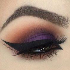 Píntate como quieras, pero asegúrate siempre de ser tu misma #ojos #eyes #makeup #maquillaje #eyeliner #delineador
