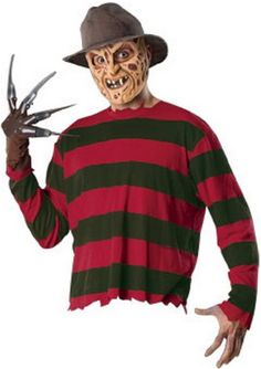 A #NightmareOnElmStreet #FreddyKrueger #Halloweenostume  http://adultsfancydresscostumes.com/awesome-adult-halloween-costumes-for-couples-give-people-the-creeps