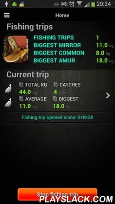 Carpio - Carp Fishing Tracker  Android App - playslack.com , Specially designed for carp anglers and totally free. Keeps track of your carp fishing history and provides useful tools such as rod counters and various statistics aimed to improve your fishing experience. Contains a customizable user interface - from simple (allowing tracking of minimal information) to complex (allowing tracking of the used bait and usage of rod counters), designed to be usable in fishing situations (powerful…