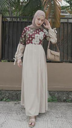Muslim Dress, Hijab Dress, Modest Fashion, Hijab Fashion, Pola Rok, Batik Fashion, Islamic Fashion, Batik Dress, Asian Fashion