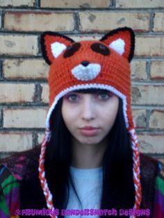 fox hat <3
