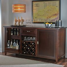 Firenze Wine and Spirits Credenza at Wine Enthusiast - $1,995.00