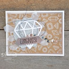 Wednesday, March 30, 2016  Stampin' Dolce: Sparkling Diamonds - Artisan Design Team Blog Hop You're So Lovely Project Kit, Shine On Specialty DSP