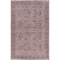 Classic vintage appeal. The worldly, rich motif and sophisticated style of the Sauri Rug, make it a perfect fit for an eclectic living room or bedroom.