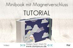 Minialbum mit verdecktem Magnetverschluss | Anleitung