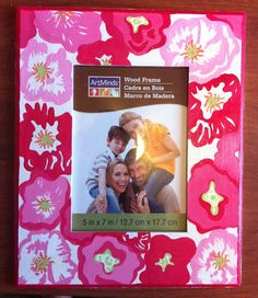 Custom painted picture frames ANY Pattern by CustomPaintedLetters, $15.00