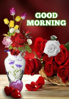 Good Morning Pictures, Images, Photos - Page 4 Good Morning Beautiful Pictures, Latest Good Morning Images, Good Morning Images Flowers, Morning Pictures, Good Morning Tuesday, Good Morning Gif, Good Morning Picture, Good Night Image, Morning Msg