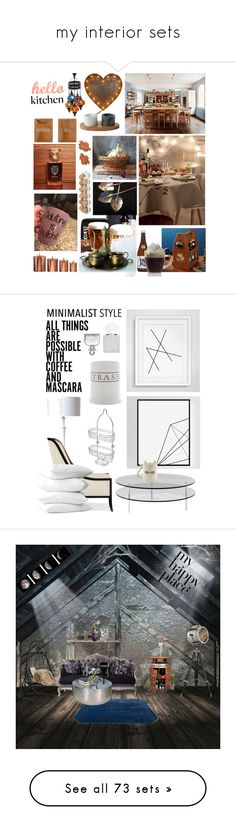 """my interior sets"" by nieboskakara ❤ liked on Polyvore featuring interior, interiors, interior design, home, home decor, interior decorating, Amici Home, Hostess, Bloomingville and Fitz & Floyd"