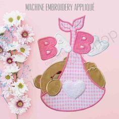 Baby Bear Appliquè - Ricamo a Macchina - DOWNLOAD DIGITALE