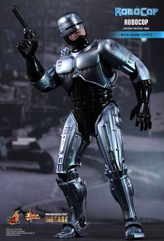 Hot Toys Unveils Robocop Diecast Sixth Scale Figure Pet Sematary, Cyberpunk, Robocop 2, Full Metal Jacket, Nerd Art, Live Action Movie, Cultura Pop, Movie Characters, Iron Man