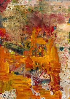Maja Lisa Englehardt - The Fifth Day ( , acrylic on canvas 19 × 13 inches Abstract Expressionism, Painting Abstract, Contemporary Artwork, Lisa, Love Art, Museum, Sculpture, Gallery, Creative