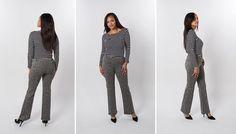 Boot-Cut | Pebble Dress Pant Yoga Pants