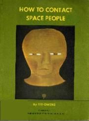 How to contact space people by Ted Owens   1969