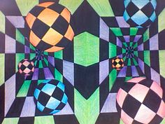 Optical Illusion Art Projects | Optical Illusion Art by ~kasumi42 on deviantART