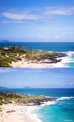 Beaches of #Oahu.