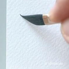 Watercolor Art Lessons, Watercolor Paintings For Beginners, Watercolor Video, Watercolor Landscape Paintings, Watercolor Techniques, Watercolour Painting, Beginning Watercolor Tutorials, Watercolor Pencil Art, Beginner Painting