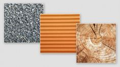Three Natural Resource Textures Free PSD Template