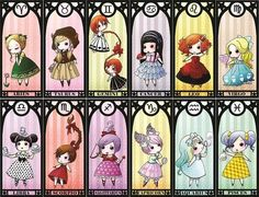 Zodiac chibi, so cute Anime Zodiac, Zodiac Art, Scorpio Zodiac, Zodiac Signs Astrology, My Zodiac Sign, Chibi, Lolis Anime, Zodiac Characters, Capricorn And Aquarius