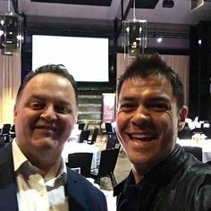 Dare to... #transform. Kicking it with @dangregorytii #odeshowcase @odemanagement