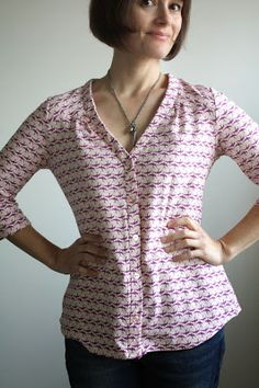 Camas Blouse by Thread Theory
