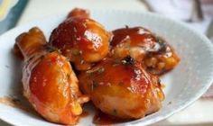 muslos de pollo asados receta