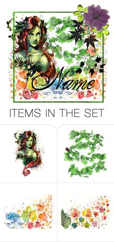 """Poison Ivy (Open icon)"" by everything-fandom-icons ❤ liked on Polyvore featuring art"