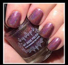 Mulberry compote is a beautiful limited edition holographic polish originally made for a custom Face