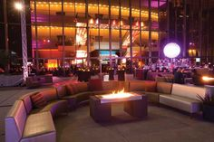 The Terrace Plaza sets the scene for vogue-ish, evening affairs.