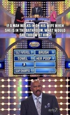 """Her poop."" 