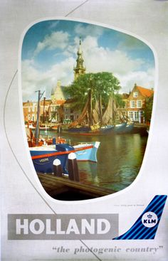 KLM - Holland - (c. 1950) by Tedford