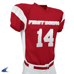 b08c032353c First Down Polyester Dazzle Football Jersey by Champro Sports Style Number  FJ14 Graham Sporting Goods